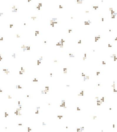 Papel de Parede Coleção Brincar Tetris I - Bobinex