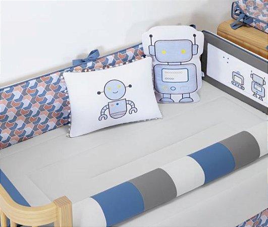 Kit Berço Robô Padrão Americano 10 Peças - Batistela