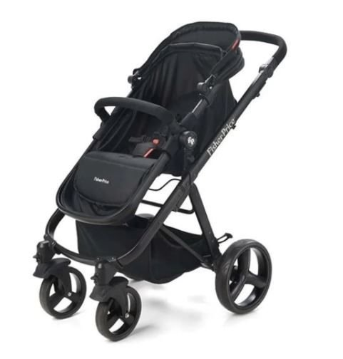 Carrinho de Bebê Passeio Hero TS Preto - Fisher Price