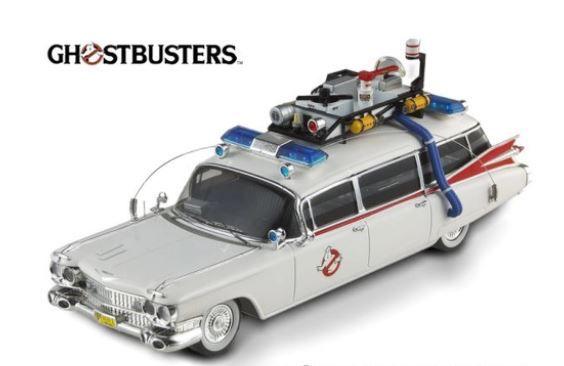 Brinquedo Colecionável 1959 Cadillac Ecto 1 - Os Caça Fantasmas / Ghostbusters 1/18 - California