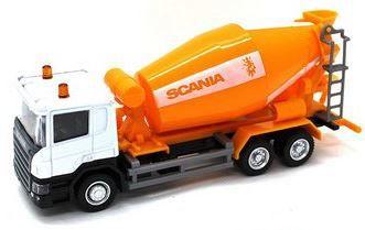 Miniatura Caminhão Betoneira Scania P-Series 1:64 Junior Truck - California