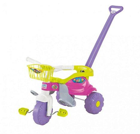 TICO-TICO FESTA Rosa Com Aro - Magic Toys