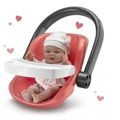 Brinquedo Bebê com Bebê Conforto Dia de Passeio - Roma
