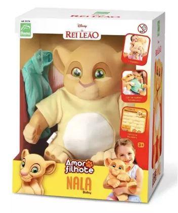 Boneca Nala Baby Rei Leão - Roma