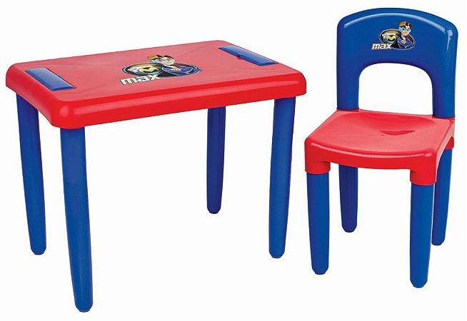 Mesa Infantil Com Cadeira Max - Magic Toys
