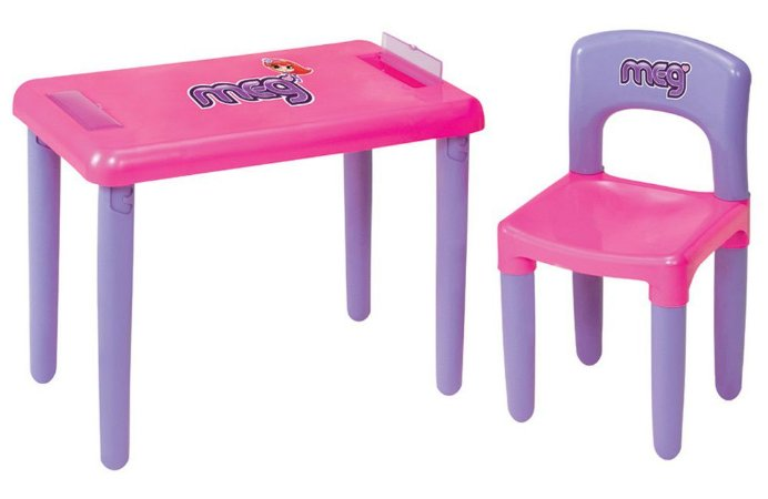 Mesa Infantil Com Cadeira Meg - Magic Toys