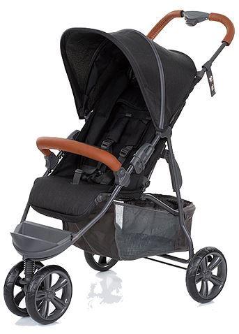 Carrinho de Bebê Passeio MOVING LIGHT Woven Black - ABC Design