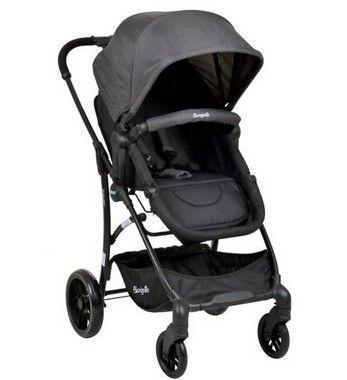 Carrinho de Bebê Convert Dark Grey - Burigotto