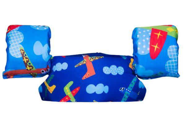 Bóia Colete Infantil Aviões 10kg - 20kg - Panda Pool