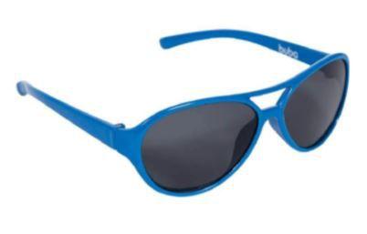 Óculos de Sol Infantil com Armação Flexível Azul - Buba