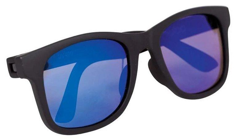 Óculos de Sol Infantil com Armação Flexível Preto - Buba