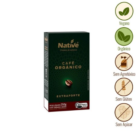 Café Extraforte Orgânico Native (250g)