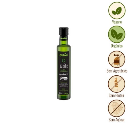 Azeite Extra Virgem Orgânico Native (250ml)