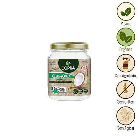Óleo de Coco Extravirgem Orgânico Copra (200ml)