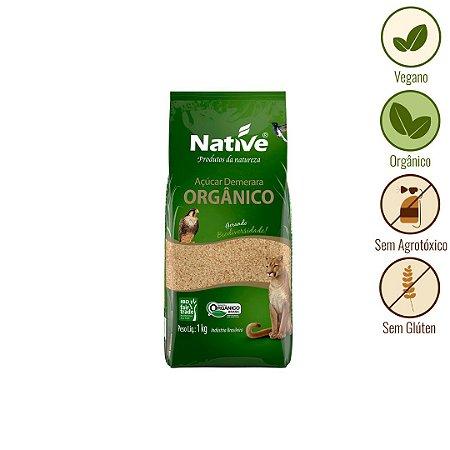 Açúcar Dourado Orgânico Native (1kg)