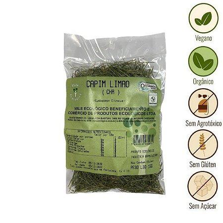 Chá de Capim Limão Orgânico Vale Ecológico (15g)