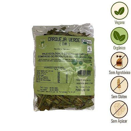 Chá de Carqueja Verde Orgânico Vale Ecológico (15g)