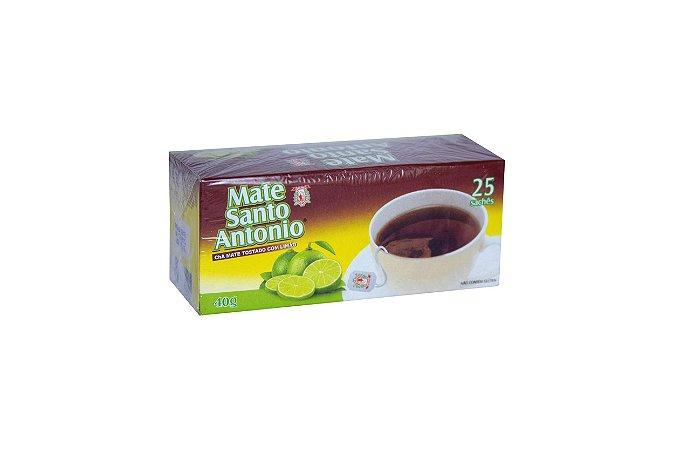 Chá Mate sachê Limão 40g UN