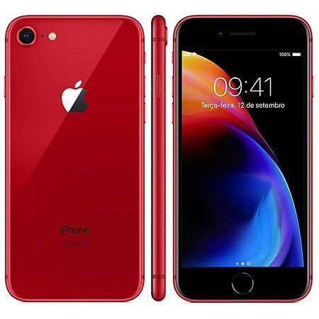 SMARTPHONE APPLE IPHONE 8 256GB ESPECIAL VERMELHO