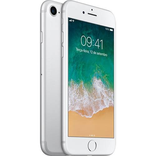 SMARTPHONE APPLE IPHONE 7 128GB PRATEADO