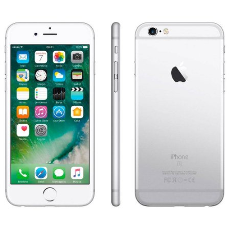 SMARTPHONE APPLE IPHONE 6S PLUS 16GB PRATEADO