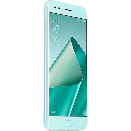 """SMARTPHONE ASUS ZENFONE 4 ZE554KL 4RAM 64GB TELA 5.5"""" LTE DUAL AZUL"""