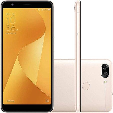 "SMARTPHONE ASUS ZENFONE MAX PLUS ZB570TL 3RAM 32GB TELA 5.7"" LTE DUAL DOURADO"