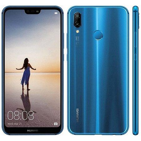 """SMARTPHONE HUAWEI P20 LITE ANE-LX3  4RAM 32GB TELA 5.84"""" LTE DUAL AZUL"""