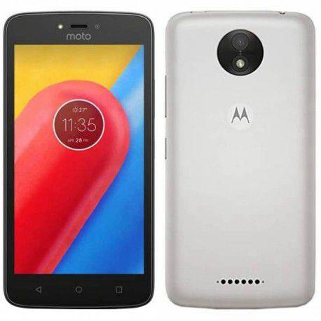 "SMARTPHONE MOTOROLA MOTO C 1RAM 8GB TELA 5.0"" 3G DUAL BRANCO"