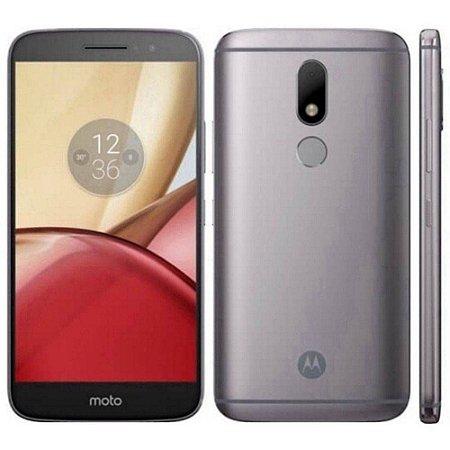 """SMARTPHONE MOTOROLA MOTO M XT1663 4RAM 32GB TELA 5.5"""" LTE DUAL PLATINUM"""