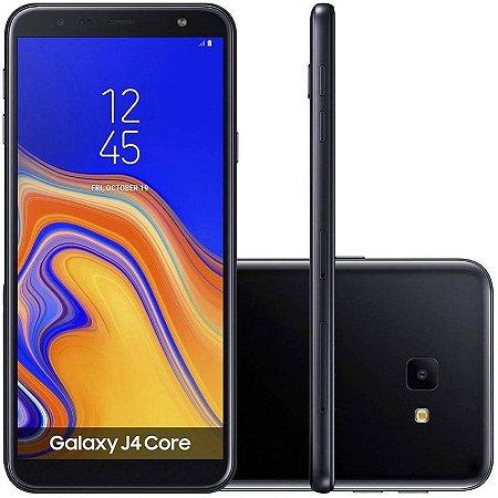 "SMARTPHONE SAMSUNG J4 CORE J410G 1RAM 16GB TELA 6.0"" LTE DUAL PRETO"