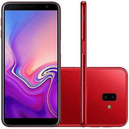 "SMARTPHONE SAMSUNG J6+ PLUS J610G 3RAM 32GB TELA 6.0"" LTE DUAL VERMELHO"