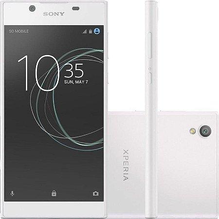 "SMARTPHONE SONY XPERIA L1 G3313 2RAM 16GB TELA 5.5"" LTE SINGLE BRANCO"