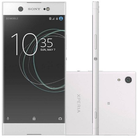 "SMARTPHONE SONY XPERIA XA1 ULTRA G3223 4RAM 32GB TELA 6.0"" LTE SINGLE BRANCO"