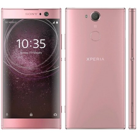 "SMARTPHONE SONY XPERIA XA2 H3123 3RAM 32GB TELA 5.2"" LTE SINGLE ROSA"