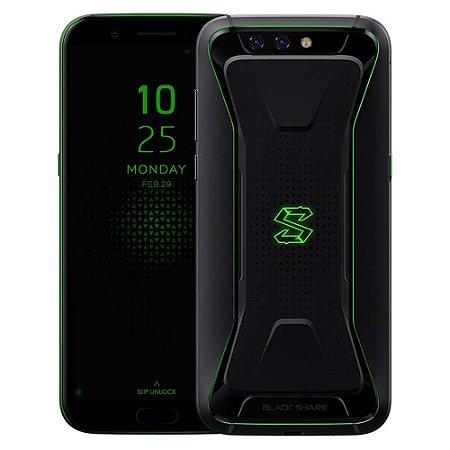 "SMARTPHONE XIAOMI BLACK SHARK 6RAM 128GB TELA 5.99"" LTE DUAL GLOBAL PRETO"