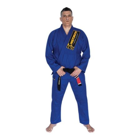 Kimono Jiu Jitsu BJJ Pretorian Classic Azul Royal