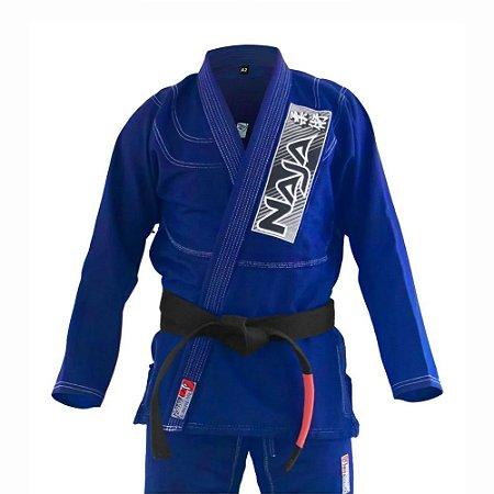 Kimono Jiu Jitsu BJJ Naja Brave Azul Royal