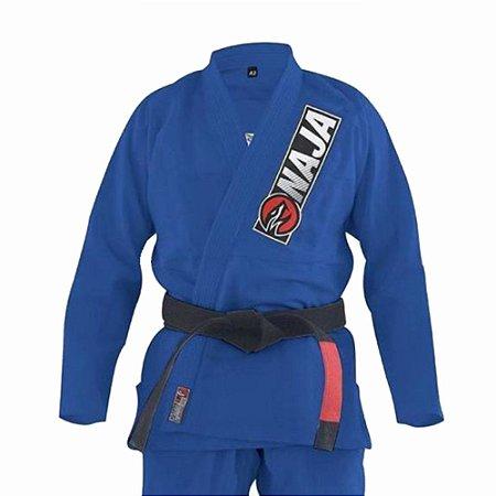 Kimono Jiu Jitsu BJJ Naja Overcoming Azul Royal