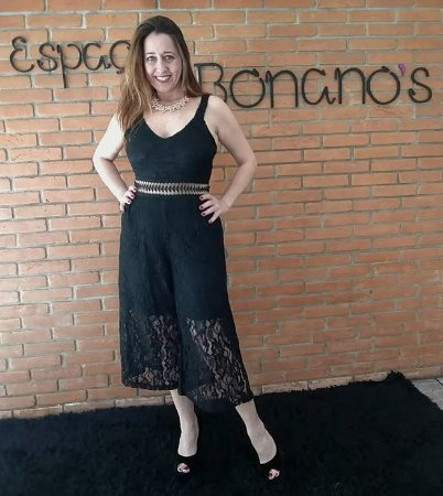 d05d868f5 MACACÃO PANTACOURT DE RENDA - Espaço Bonano's Moda Acessórios e ...