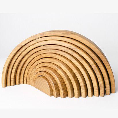 Arco Grande em madeira CRU