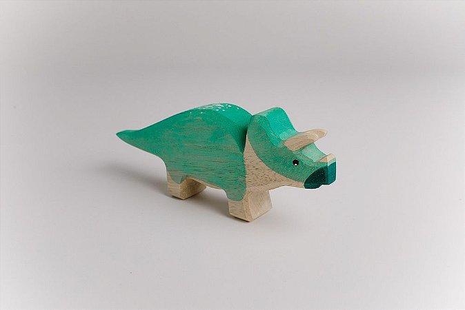 Dino Verde Triceratopis