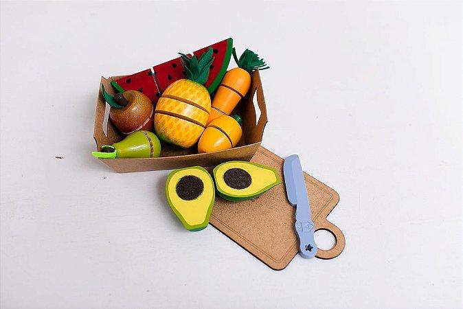 Kit Frutas de Corte com 7 SOMENTE ENVIO VIA CORREIO NO MOMENTO