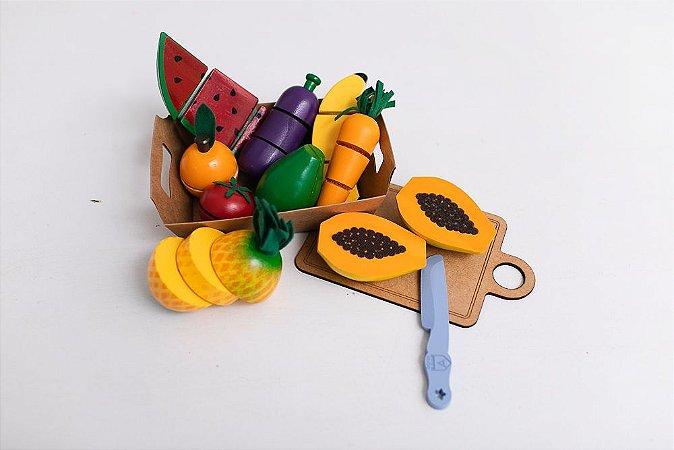 Kit Frutas de Corte com 9