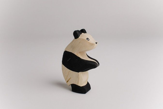 Panda adulto em pé