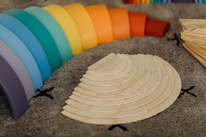 Meia lua acessório arcos grandes - 11 peças