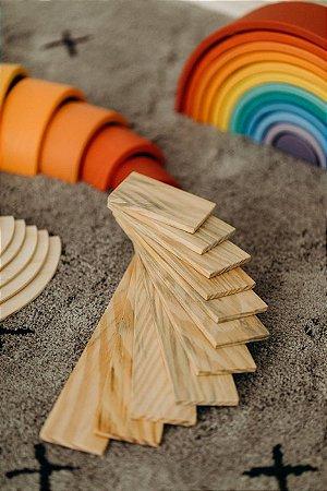 Tábuas - acessório arco íris - 11 peças
