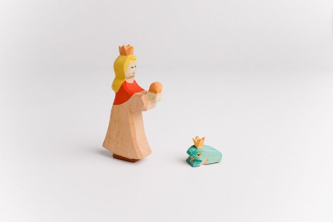 Princesa e Rei Sapo - História Henrique de Ferro ou O Rei Sapo