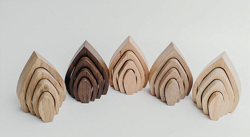 Arco Vela - escolha a madeira