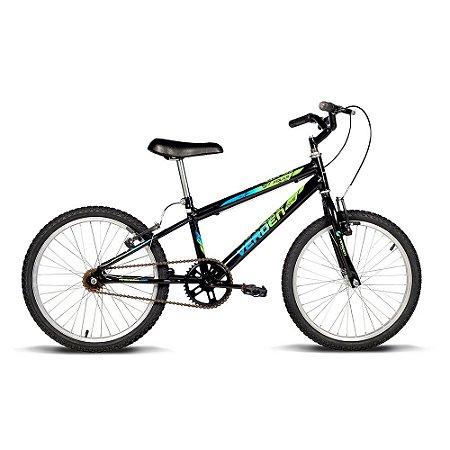 Bicicleta Juvenil Aro 20 Folks Preta Verde Verden Bikes